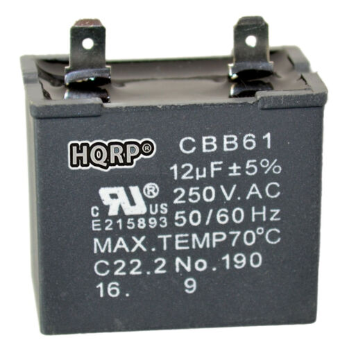 2169373 W10662129 Replacement 12uf Motor Capacitor for Whirlpool Refrigerators