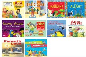 Details about Moral Values Series for Children: Islamic Kids Stories Books  Read & Learn