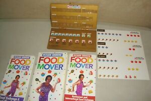 Richard Simmons Food Mover Weight Loss Meal Tracker Lot eBay