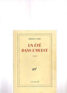 Un-ete-dans-l-039-Ouest-de-Philippe-Labro-Livre-etat-bon