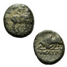 Magnesia ad Maeandrum Ionien Bronze 300-190 v.Chr. Reiter Zebu Stier BMC 35 var.