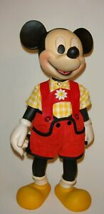 Anri-Woodcarvings-Disney-Characters-Mickey-Mouse-14-Original-Box-And-CEO