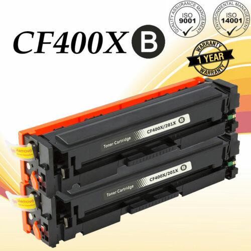 CF400X Toner Cartridge For HP 201X Color LaserJet Pro M252dw M277 M277c6 M277dw