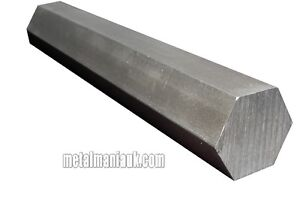 "7//16/"" 5//8/"" HEXAGON STEEL BAR EN1A Leaded 1//4/""  8MM 1//2/"" 3//4/"" /& 1/"" A//F 10MM"