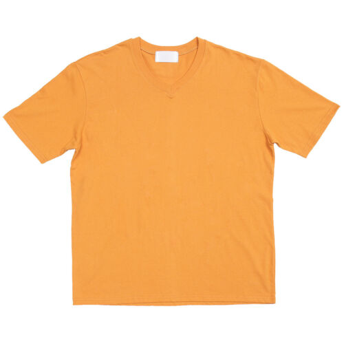 Men/'s Fashion V Neck Color Boxy Short Sleeve Tee 318 GENTLER SHOP