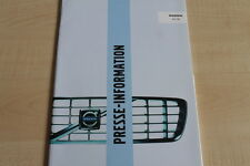 161818) Volvo V40 V70 Pressemappe 09/2003