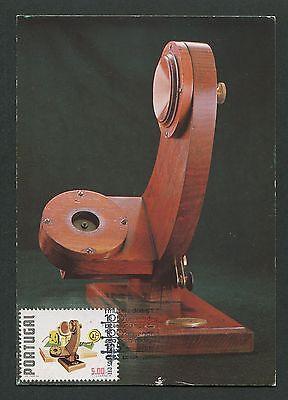 Portugal Mk 1978 Postmuseum Telefon Phone Maximumkarte Maximum Card Mc Cm D3232 Elegant Und Anmutig Briefmarken Post & Kommunikation