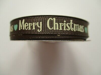 choice of design 1 reel Dovecraft Traditional Christmas Ribbon 2m grosgrain