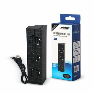 Dobe-Ps4-Slim-Sony-Playstation-4-S-Esterna-Super-Ventola-di-Raffreddamento