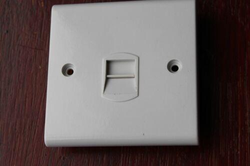 DETA S1353 Slimline Blanc secondaire Esclave Téléphone Socket Outlet