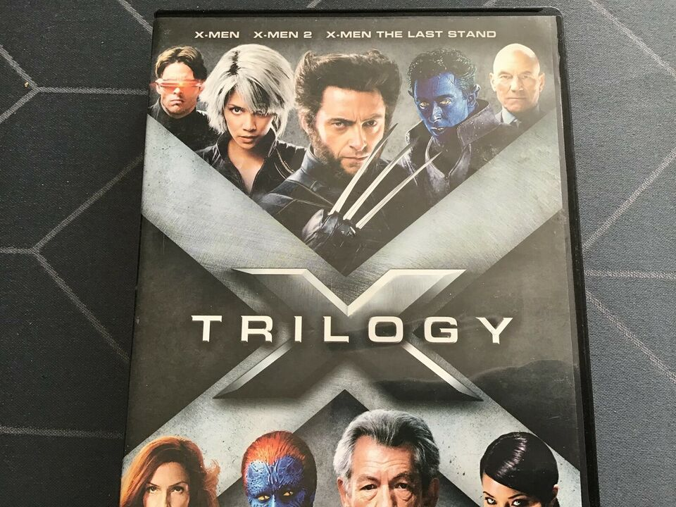 X-MEN TRILOGY, DVD, science fiction