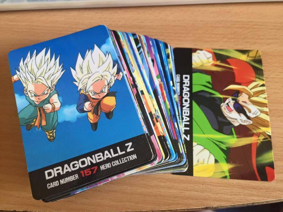 Karte Dragon Ball Z DBZ Hero Sammlung Part Part Part 2  regulär Satz 1994 84c1b8