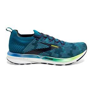 BROOKS-RICOCHET-2-Scarpe-Running-Uomo-Neutral-Energize-BLUE-NIGHTLIFE-110315-479