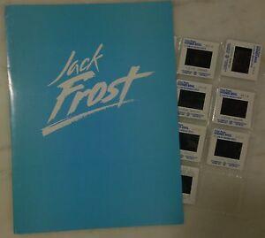 jack frost 1998 press kit folder color photo slides michael