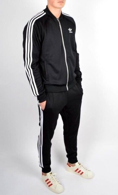 6f0e96455cd315 adidas Originals Superstar Track Jacket Black Ab9717 Select Size L ...