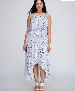 Lane-Bryant-Floral-Chiffon-Maxi-Dress-14-16-18-20-22-24-26-28-Bloom-1x-2x-3x-4x