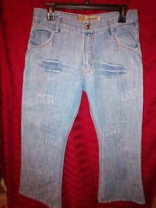 Women-039-s-Old-Navy-Pepe-Vintage-034-Just-Below-Waist-034-Boot-Cut-Jeans-sz-32