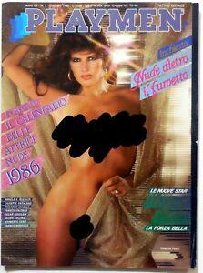 Calendario Pamela Prati.Dettagli Su Vintage Magazine Playmen N 1 1986 Pamela Prati