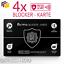 4x-RFID-Blocker-Karte-NFC-Schutzkarte-EC-Karten-Schutz-kreditkarten-Card-Signal Indexbild 1