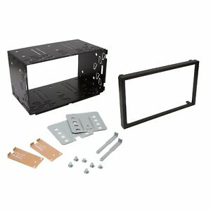 Universal-Double-DIN-Car-Stereo-Radio-Headunit-103mm-Fitting-Cage-Mounting-Kit