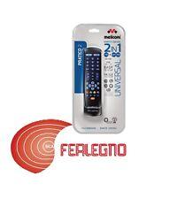 TELECOMANDO UNIVERSALE PER TV DECODER NERO MELICONI PRATICO2 RC ART.807170