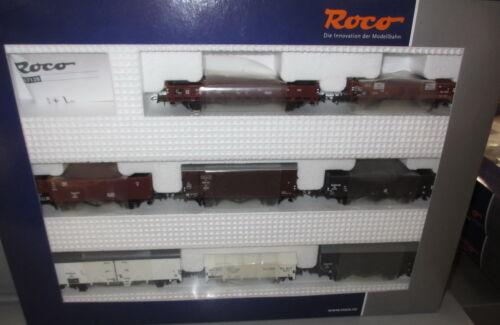 ROCO h0 67128 _ 8 x NS (NL) wagons dans le SET, Ep: III _ NEUF