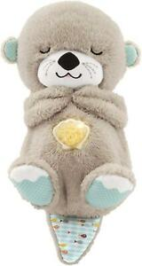 Fisher Price BEDTIME OTTER SOOTHER Sensory Baby Soft Plush Toy Sleep Aid 0m+ BN