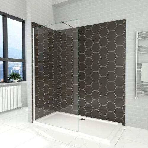 Walk in Wet Room Shower Screen Panel Shower Cubicle 700,760,800,900,1000mm