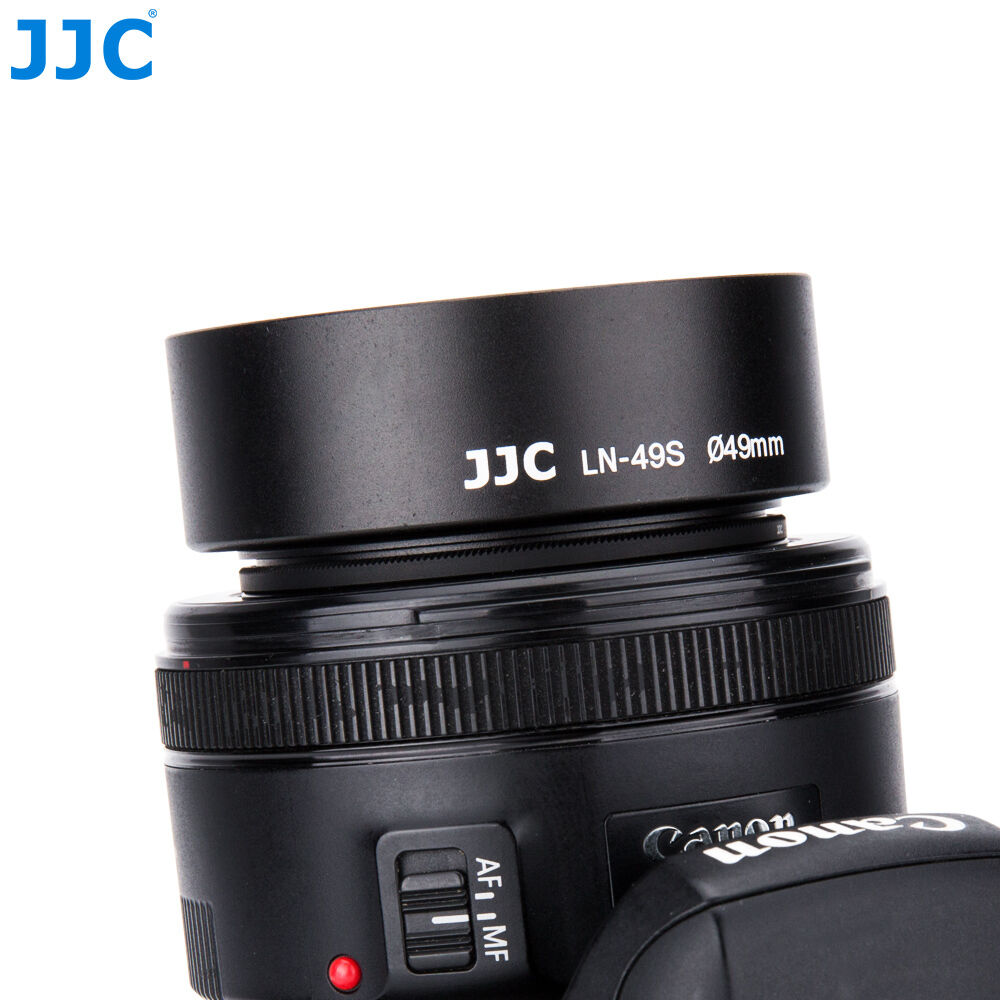 Jjc ln-67w oscurecidos metal gran angular lens Hood