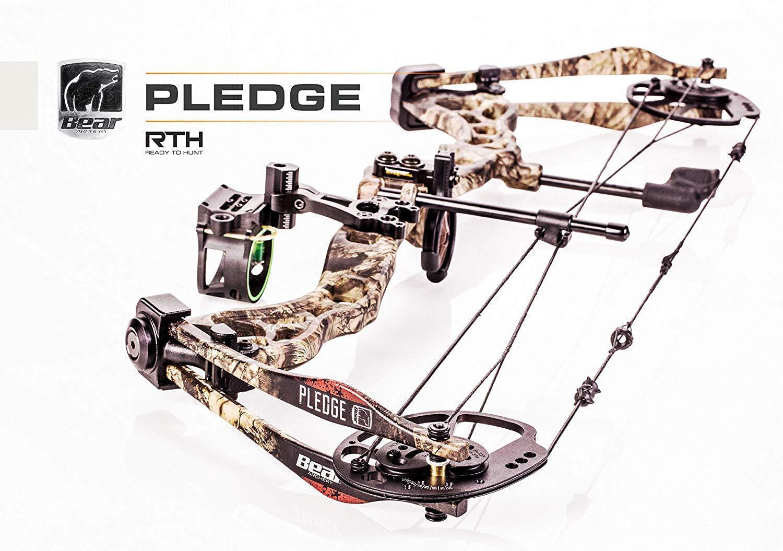 Bear Archery Pledge Rth Compound Bow RH 70lbs A7at1117wm