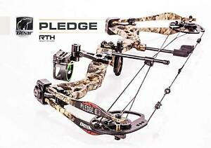New Bear Archery Pledge RTH Camo Package RH Compound Bow 70# A7AT1117WM Cruzer