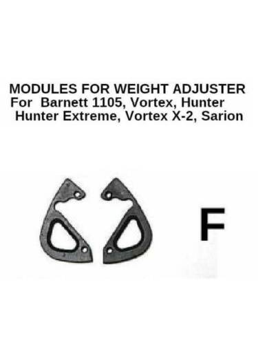 Barnett Compound Bow WEIGHT  CAM ADJUSTER Modules Type  F