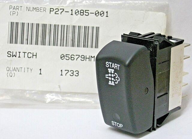 Kenworth T660 DPF Regen Regeneration Switch Oem P27 1085 001