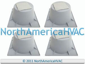 "4x 3"" HVAC AIR CONDITIONING HEAT PUMP CONDENSER RISER LIFTERS STANDS 93600 HPR-3"
