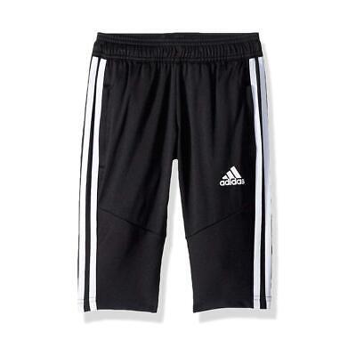 NEW Adidas Boys' Athletic Tiro 19 3/4 Slim Fit ClimaCool Soccer Pants Shorts | eBay