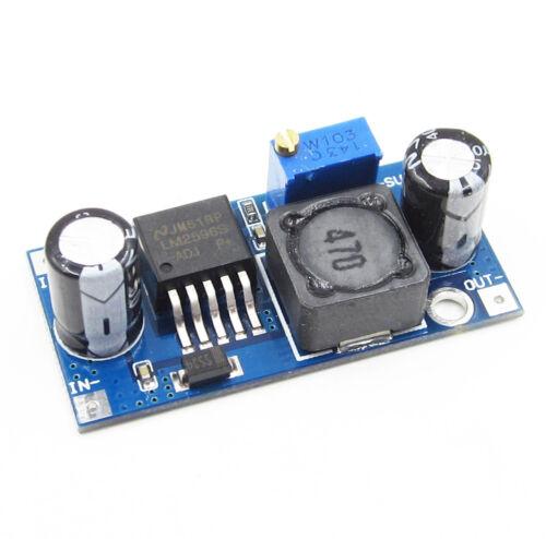 Power Converter Modul Double USB DC-DC LM2596 Step-down LED Voltmeter AHS