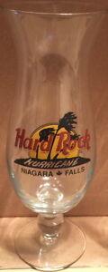 Hard-Rock-Cafe-NIAGARA-FALLS-CANADA-Hurricane-Glass-Classic-HRC-Logo-Palms-9-25-034