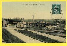 CPA FRANCE 02 - NEUILLY SAINT FRONT (Aisne) La SUCRERIE Usine Sugar Factory