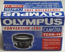 Olympus TCON - 14 x1.45 Lente de conversión tele C-2500L C-1400XL D-600 Fujifilm S5700
