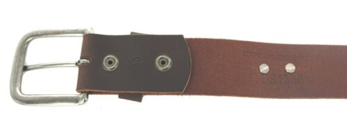 """NEW Hand Made Full Grain 1-1//2/"""" Leather Trout Concho Belt Made In USA 32-60"""
