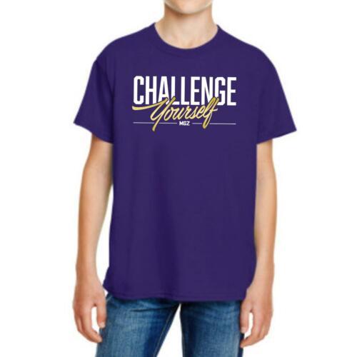 Défi Yourself Kids T-shirt Vlogger youtuber Gamer Garçons /& Filles Top T Shirt