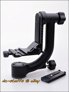 Benro-GH2-Gimbal-Tripod-Head-amp-Quick-Release-Plate-Package-fit-Arca-Swiss