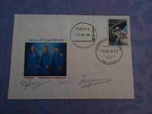 Sojus TMA-20M  Startbeleg original Crewsigniert Space