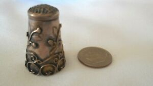 Ornate Sterling Silver Thimble TAXCO .925 Sewing Thimble