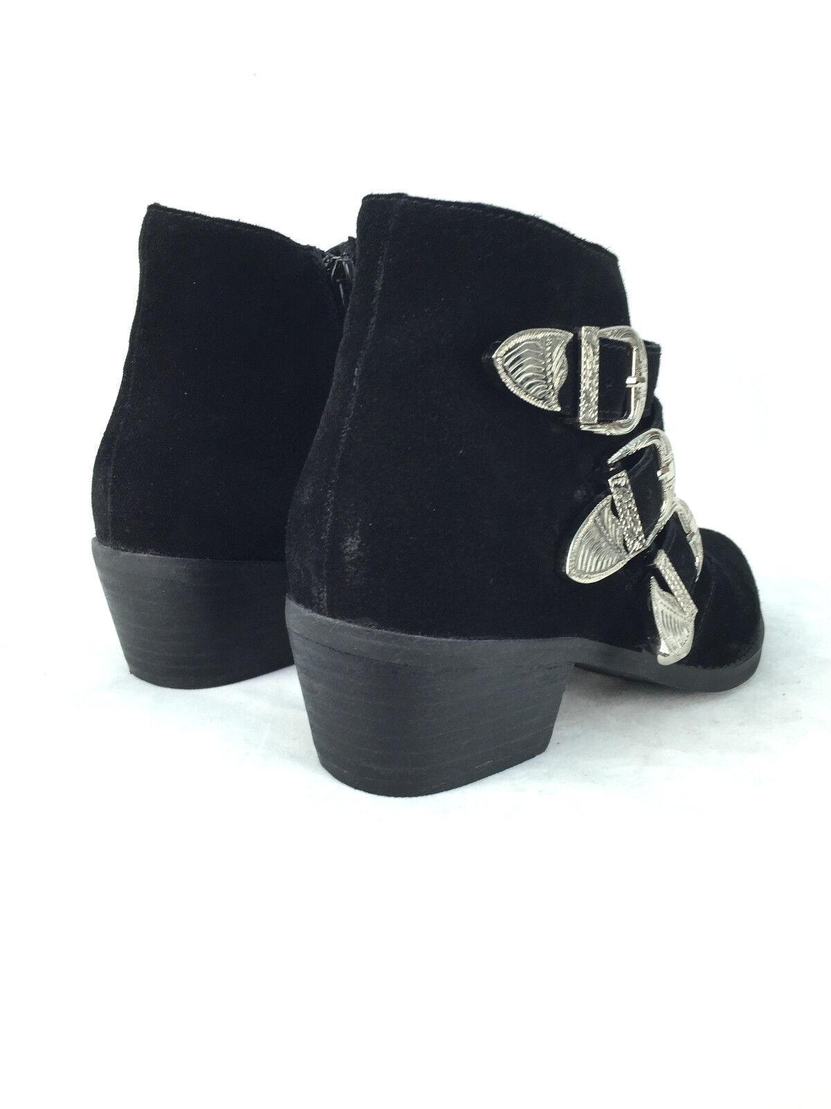 Mujer Botines Botines Mujer Estilo Motero Zapatos Talla UK4 Eur37 Us6.5 be37b6