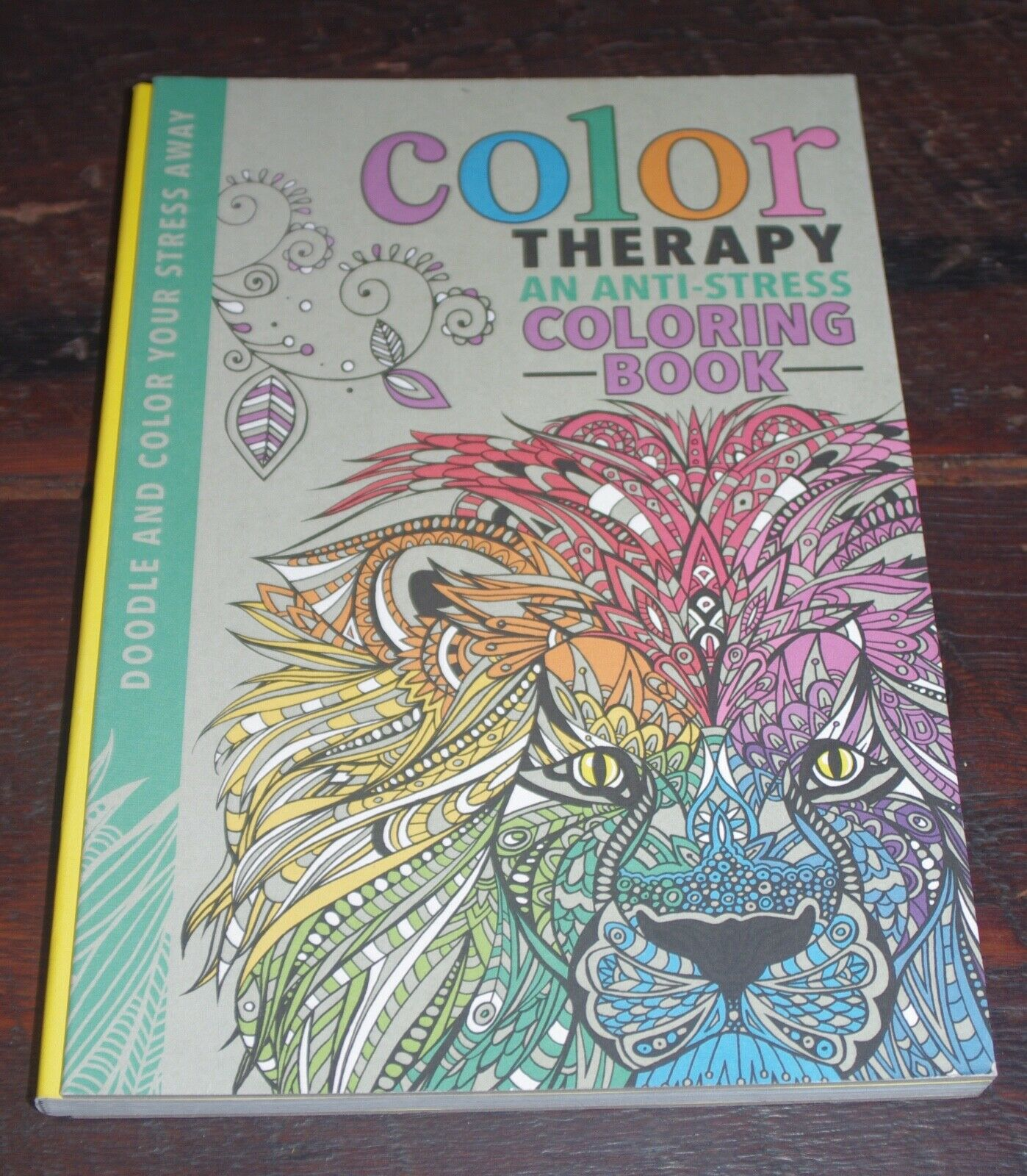 - Color Therapy : An Anti-Stress Coloring Book By Richard Merritt
