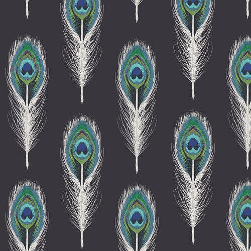 Plumaje por Katarina rocalla para galería de arte 100/% Tela De Algodón Costura Telas