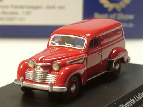 87141-1//87 rot BOS Opel Olympia Kastenwagen