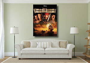 Pirates of the Caribbean Jack Sparrow Giant Poster A0 A1 A2 A3 A4 Sizes