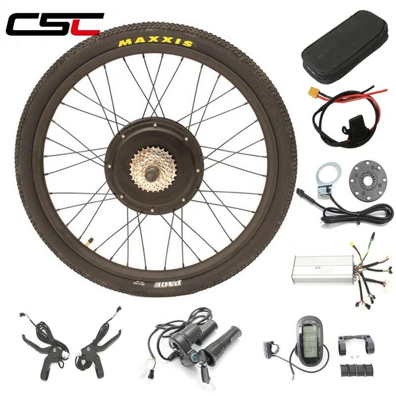 Ship From  Eu No tax Electric bicycle conversion kit 1500W 48V 26 27.5 28  ebike  great offers